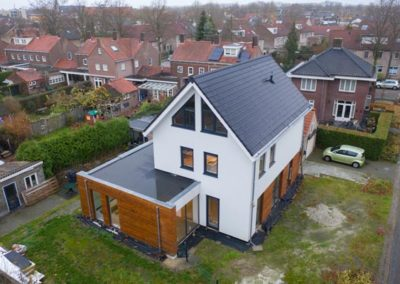 Verbouwing en nieuwbouw woonhuis